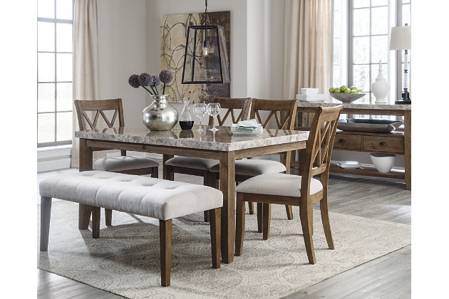 Narvilla Dining Room Table Ashley Furniture Homestore