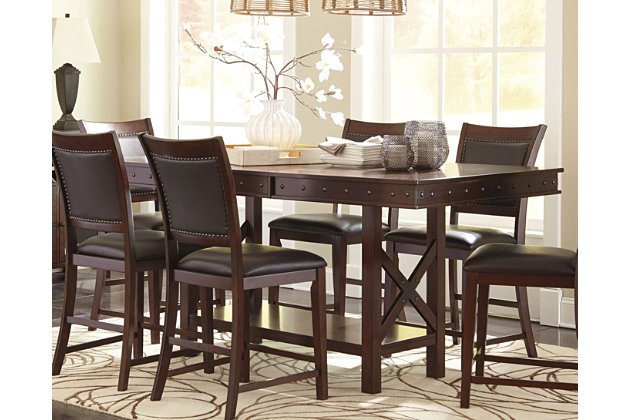 Collenburg Counter Height Dining Extension Table Ashley Furniture Homestore