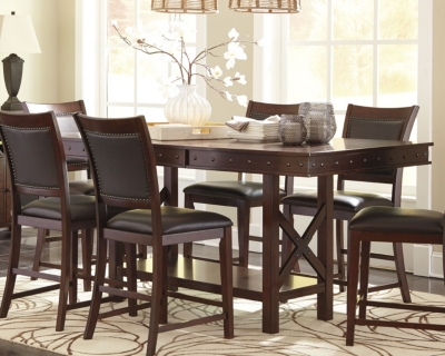 Picture of: Collenburg Counter Height Dining Extension Table Ashley Furniture Homestore