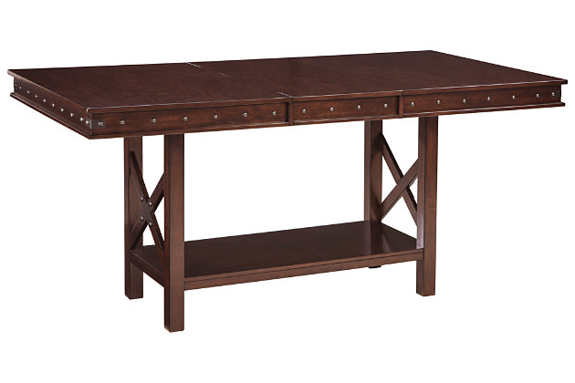 Collenburg Counter Height Dining Room Extension Table, , large