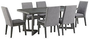 Besteneer Dining Table and 6 Chairs, , large
