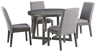 Besteneer Dining Table and 4 Chairs, , large