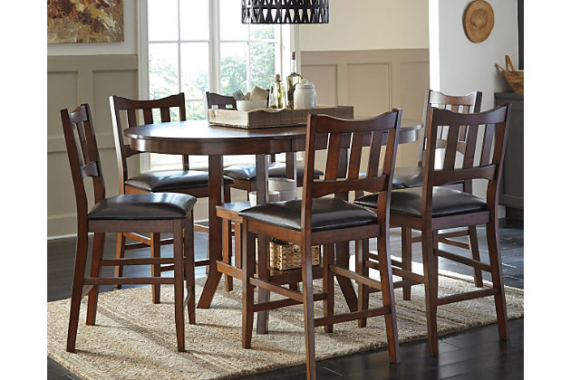 renaburg counter height dining room table - Tall Dining Room Tables