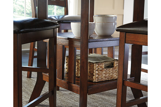 Renaburg Counter Height Dining Room Table | Ashley Furniture HomeStore