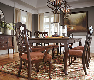 Gladdenville Dining Room Table, , large