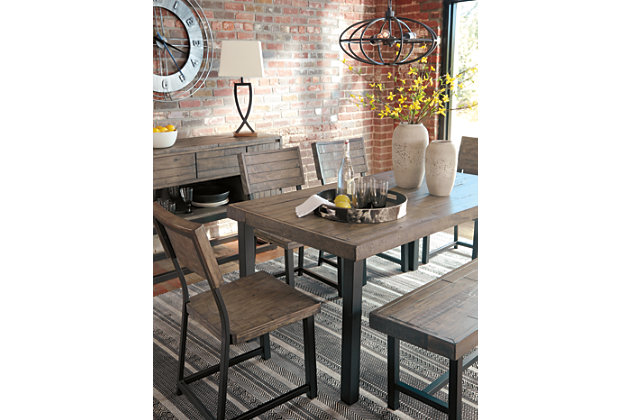 Cazentine Dining Room Table Ashley Furniture Homestore