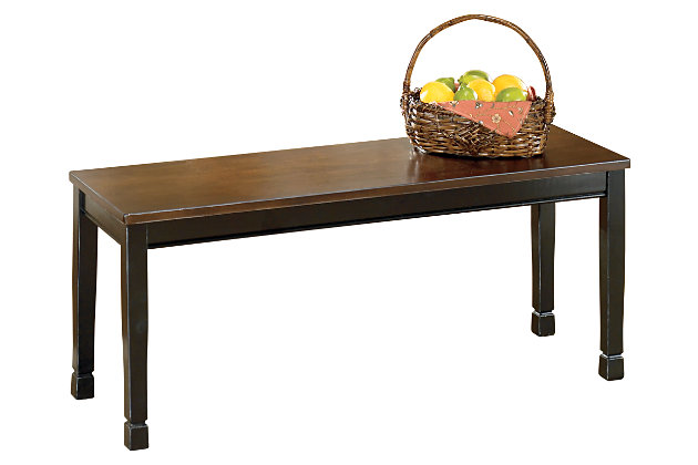 Owingsville Dining Room Bench Ashley Furniture Homestore