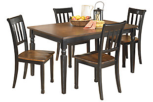 Owingsville Dining Table and 4 Chairs, , large