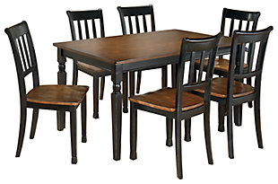 Owingsville Dining Table and 6 Chairs, , large