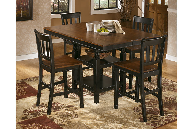owingsville counter height dining room table ashley