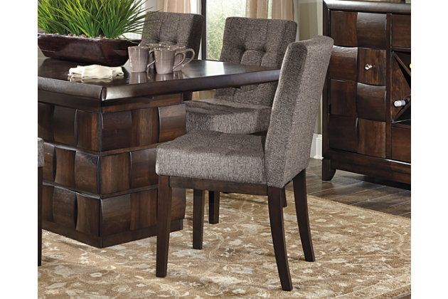 chanella dining room chair | ashley furniture homestore