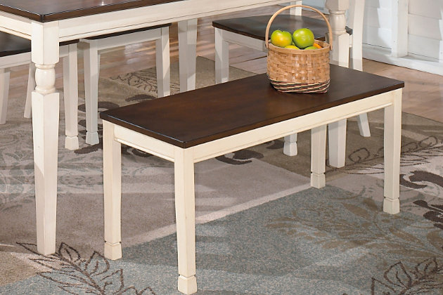 Whitesburg Dining Room Bench By Ashley HomeStore Brown