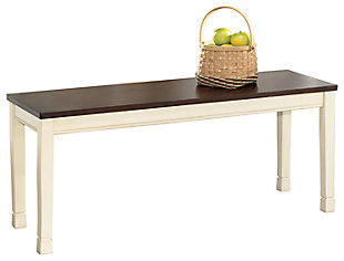 Whitesburg Dining Room Bench, , large