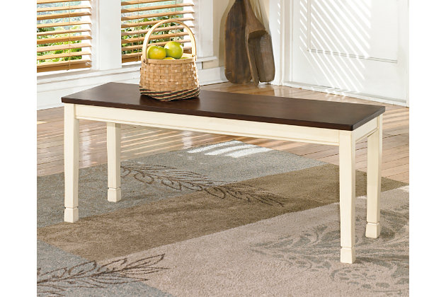 Whitesburg Dining Room Bench Ashley Furniture Home