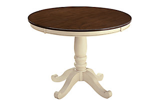 Whitesburg Table Top and Base, , large