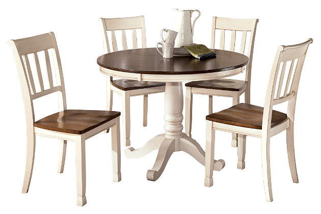 Whitesburg 5-Piece Dining Room, , large