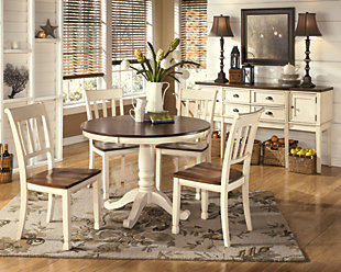 Whitesburg Round Dining Room Table, , rollover