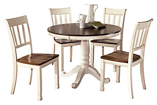 Whitesburg Round Dining Room Table, , large