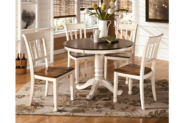 Whitesburg Table Top And Base Ashley Furniture Homestore