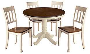 Whitesburg Dining Table and 4 Chairs, , rollover