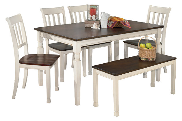 Whitesburg Dining Table And 4 Chairs, Ashley Dining Room Sets