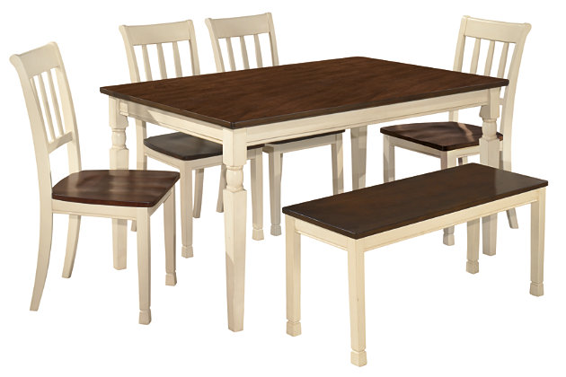 Whitesburg 6-Piece Dining Room, , large