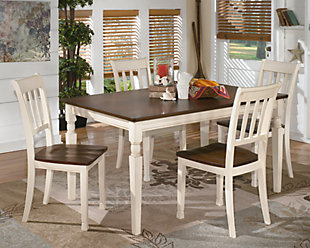 Whitesburg Dining Table and 4 Chairs, , large