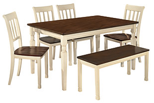 Whitesburg 6 Piece Dining Room, ...