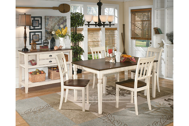 Whitesburg Dining Room Chair Ashley Furniture Homestore