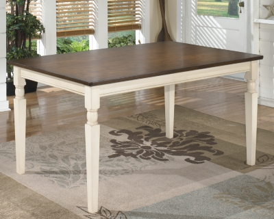 Whitesburg Dining Room Table by Ashley HomeStore, Brown/C...