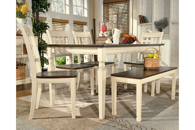 Whitesburg Dining Room Table | Ashley Furniture HomeStore