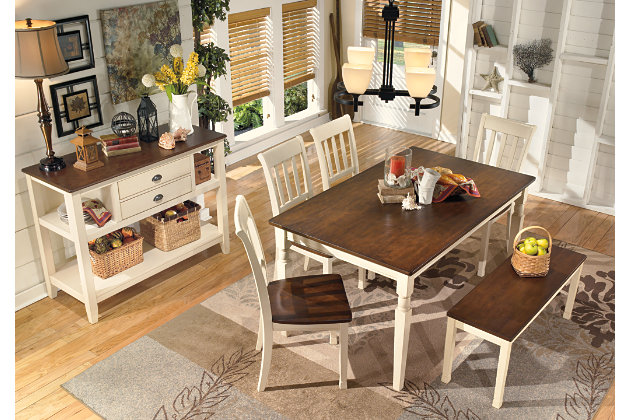 Whitesburg Dining Room Table Ashley Furniture Homestore