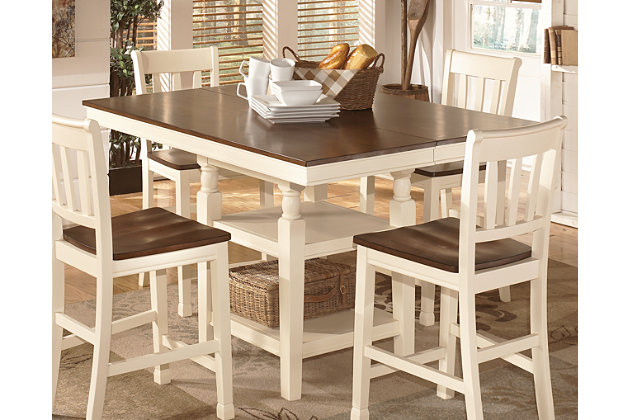 whitesburg counter height dining room table | ashley furniture