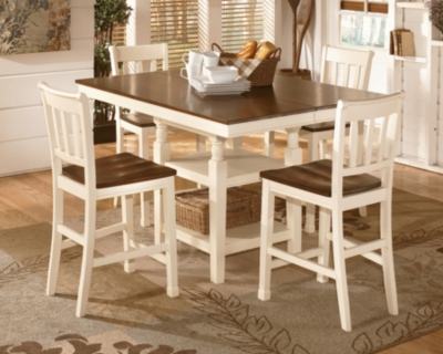 Whitesburg Counter Height Dining Room Table Ashley Furniture