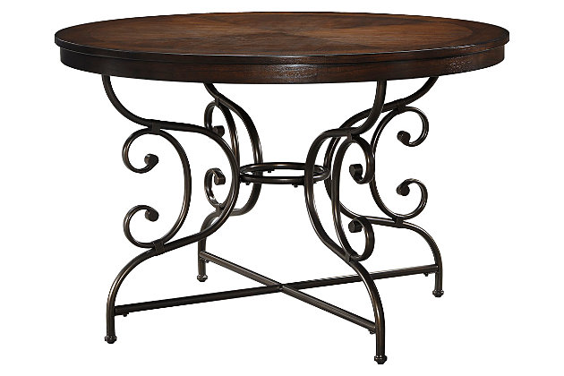 Brulind Dining Room Table by Ashley HomeStore, Brown