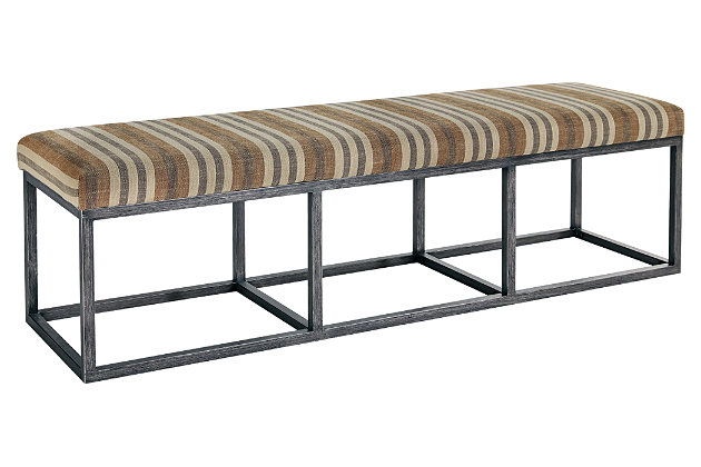 Strumfeld dining room bench ashley furniture homestore - Ashley furniture bedroom benches ...
