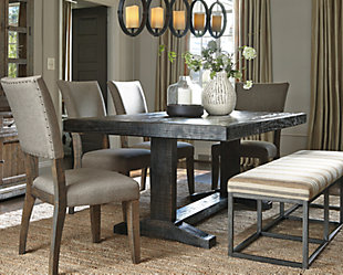 Strumfeld Dining Room Table  large ... & Strumfeld Dining Room Table | Ashley Furniture HomeStore
