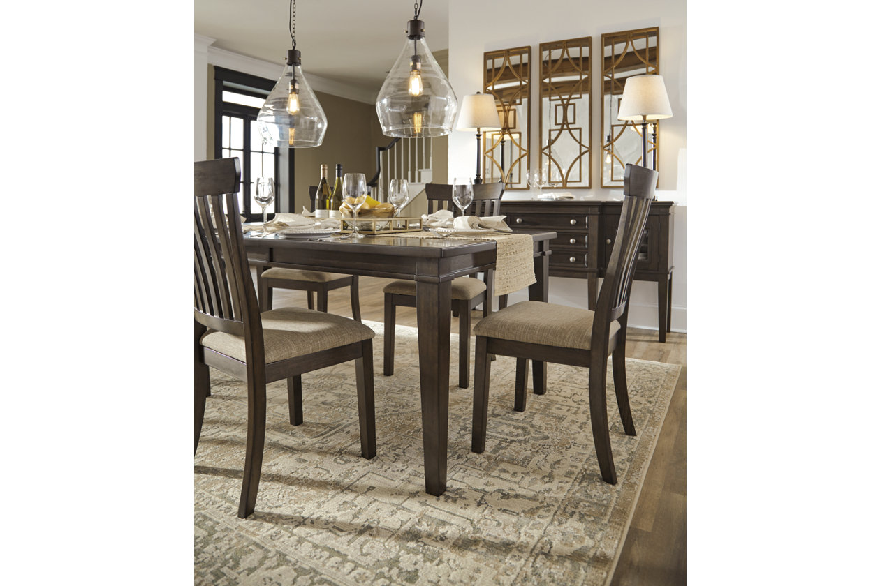 Alexee Dining Room Extension Table Images