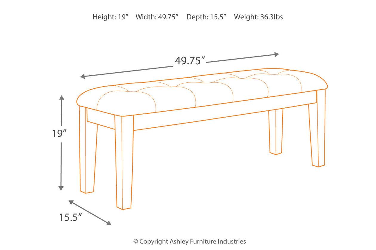 Surprising Ralene Dining Room Bench Ashley Furniture Homestore Lamtechconsult Wood Chair Design Ideas Lamtechconsultcom