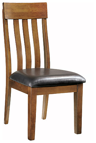 Ralene Dining Room Chair, Medium Brown, large