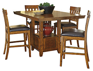 Ralene Counter Height Dining Extension Table, , large
