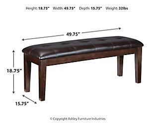Haddigan Dining Bench, , large
