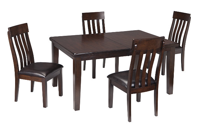 Haddigan Dining Table and 4 Chairs, , large