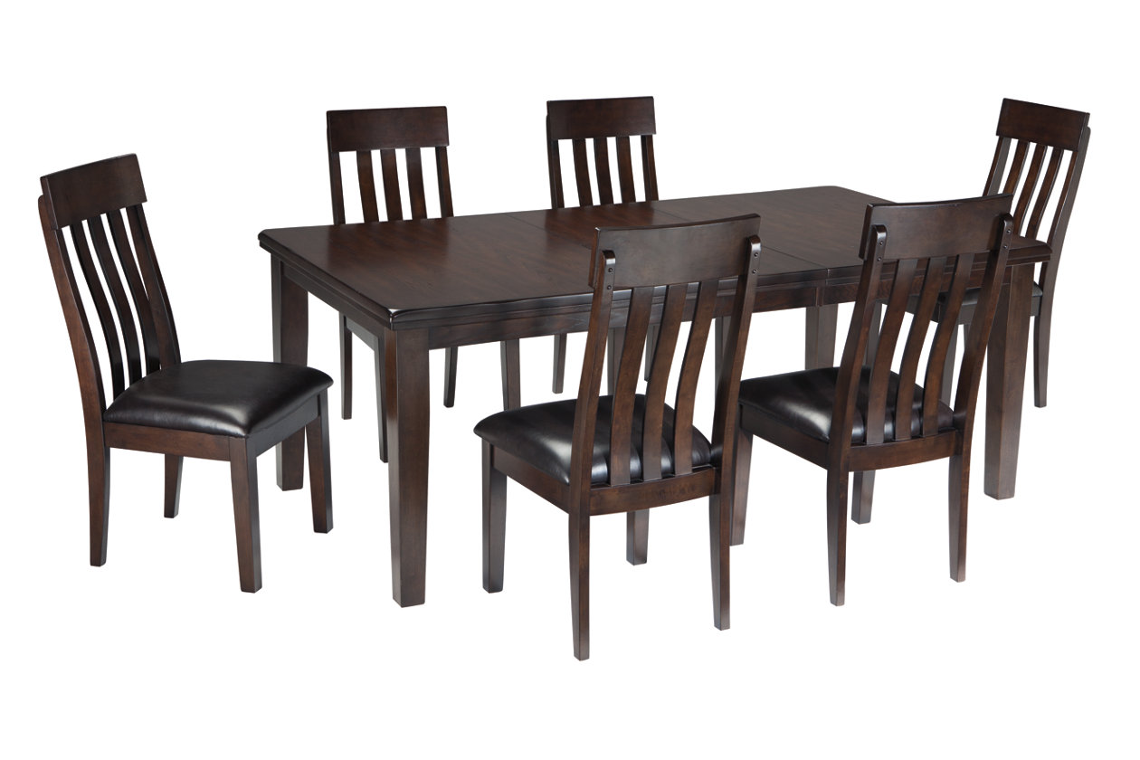 Haddigan Dining Table And 6 Chairs Set, Haddigan Counter Height Dining Room Set