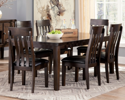 Haddigan Dining Table and 6 Chairs, , large