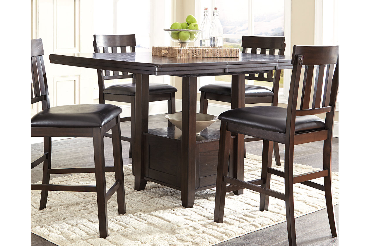 Rattan Sofa Garden Furniture, Haddigan Counter Height Dining Extension Table Ashley Furniture Homestore
