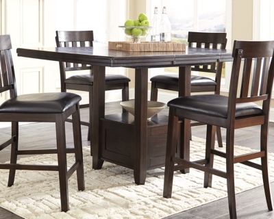 Picture of: Haddigan Counter Height Dining Extension Table Ashley Furniture Homestore