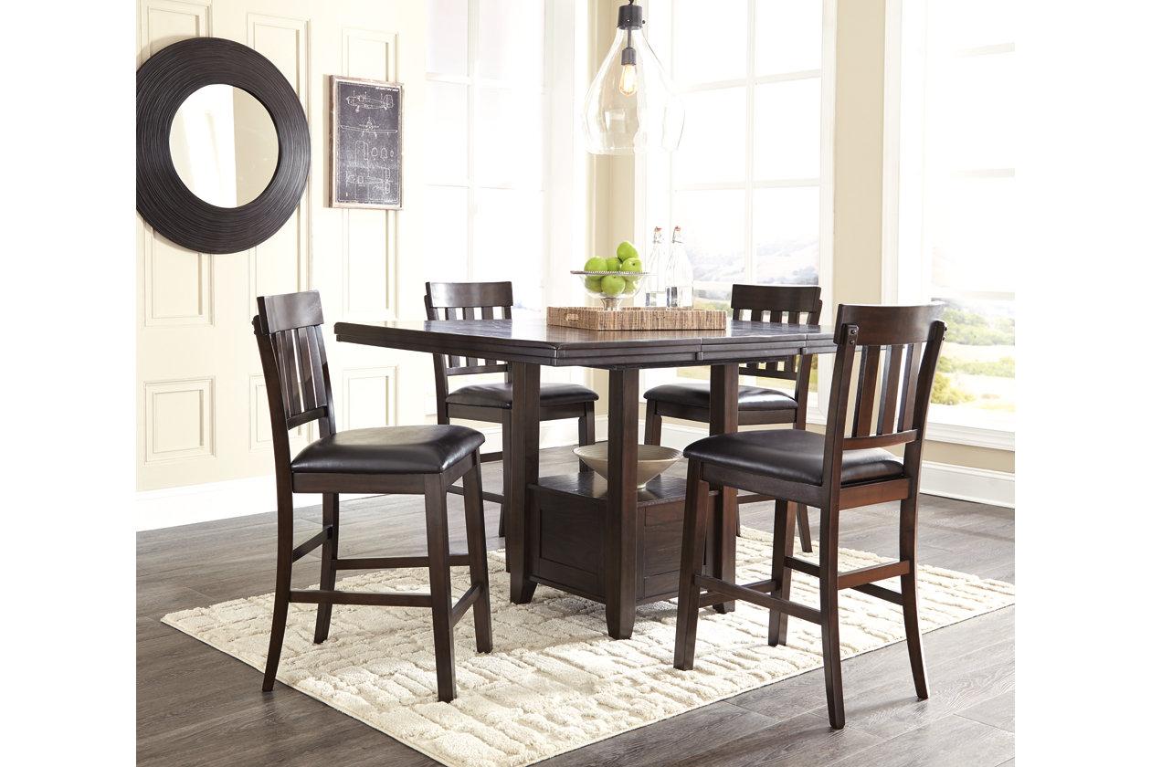Haddigan Counter Height Dining Table, Haddigan Counter Height Dining Room Set
