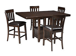 Haddigan 5-Piece Counter Height Dining Room, , large