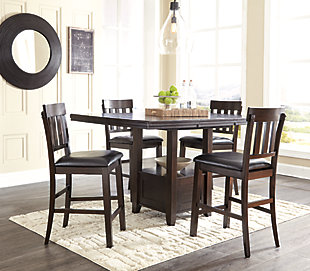 Haddigan 5-Piece Counter Height Dining Room, , rollover